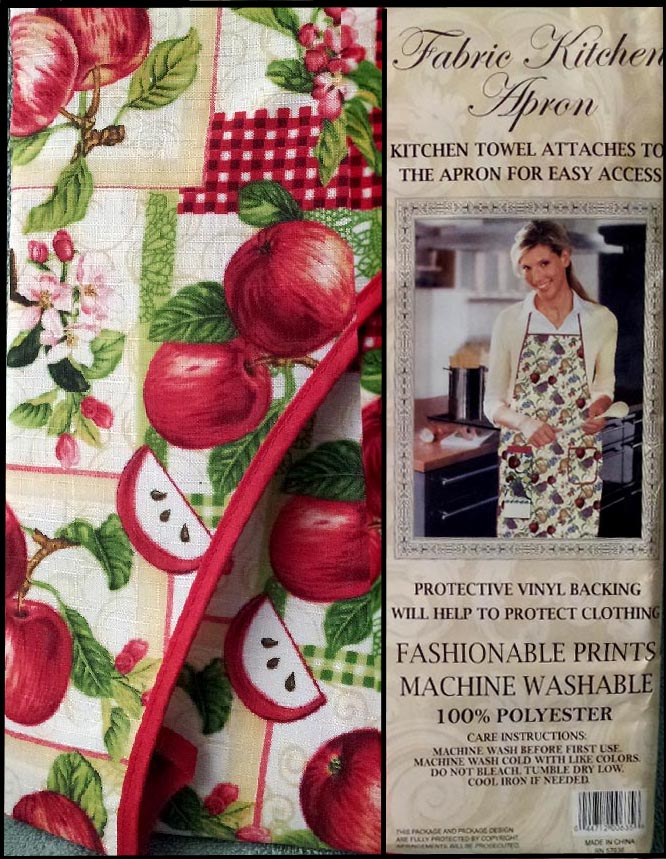 Apple Towel & Craft or Kitchen Apron