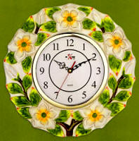 A Ceramic Kitchen Wallclock-Magnolia