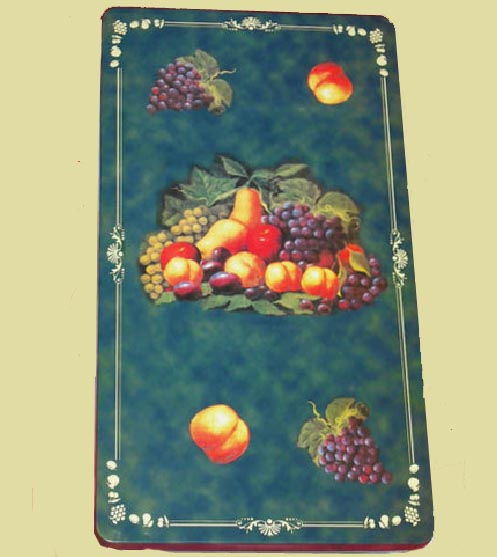 _ A Double Rectangle Burner Covers-New Green Fruit