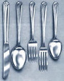 Rainbow Stainless Steel Flatware Service for 12