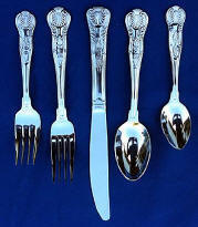Kings One Dozen Teaspoons Capco Restaurant Flatware