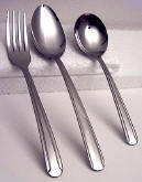 Heavy Dominion One Dozen Teaspoons Capco Restaurant Flatware