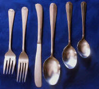 King Edward One Dozen Teaspoons Capco Restaurant Flatware