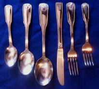 Shell One Dozen Teaspoons Capco Restaurant Flatware