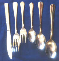 Heavy Windsor One Dozen Teaspoons Capco Restaurant Flatware