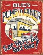 Tin Sign - Schonberg - Pump n Diner