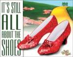 Tin Sign - WOZ - About The Shoes