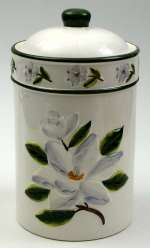 A Ceramic New Magnolia Cookie Jar