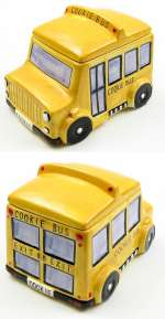 School Bus Cookie Jar