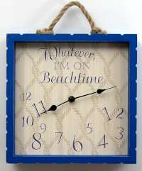 I'm On Beach Time Clock