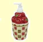 Apple Basket Lotion/Soap Dispenser