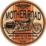 Tin Sign - Mother Road Repair