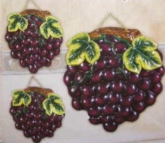 Tuscan Grape Burner Cover