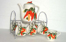 Chili tea set