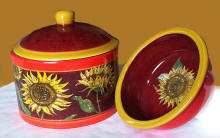 Provence Sunflower-Covered Dipchiller