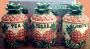 `The Pineapple Storage jar Ceamic Canisters