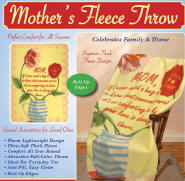 Throw Fleece Blanket Throw - Mothers