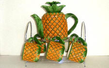 `The Teaset - Pineapple 3-D Ceramic