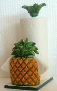 `Pineapple Paper Towel holder Ceramic Napkin Holder