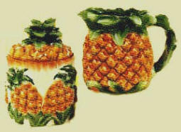 `The Pineapple sugar creamer set