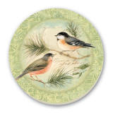 A Garden Bird Cork-Backed Tile Trivet - Rejoice