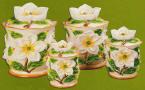 Magnolia 4 canister set