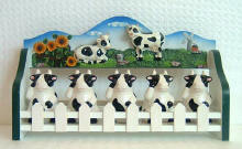 A Cows Decor Ceramic spice rack CLEARANCE!!!