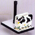 Paper Towel Napkin Holder - Cows Decor