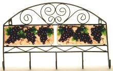 Tuscan Grape Key Hook / Kitchen Hanger