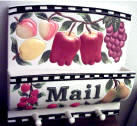 fruit Ceramic mail holder