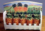 `A Pineapple Ceramic Spicerack