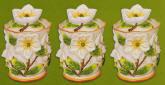 Magnolia 3 Ceramic Storage Jar/Canisters