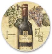 Grape/Wine Vineyard Cork-Backed Tile Trivet Set of 2