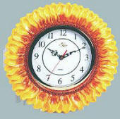 Wallclock for Kitchen - Ceramic Sunflower