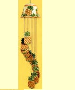 `Windchimes-Pineapple Ceramic