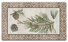 Anti Fatigue Floor Mat Woodland Pine