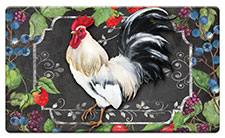 Anti Fatigue Floor Mat White Rooster
