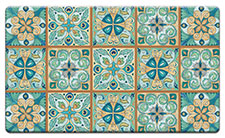 Anti Fatigue Floor Mat Moroccan Tiles