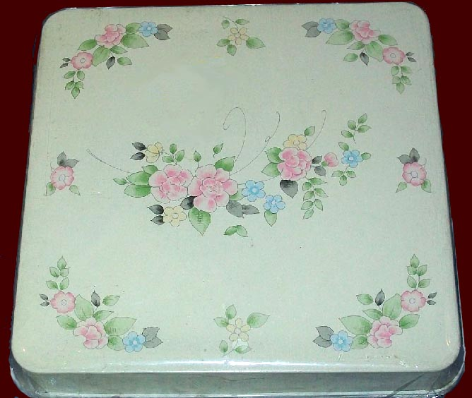 TeaRose Pfaltzgraff Square Metal Burner Covers