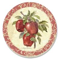 Apple Coasters - Old Orchard Coaster Set of 8