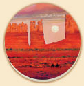 Red Rock Country Southwestern Coaster Set of 8