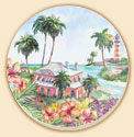 Beach Cottage Naturals Coaster Set of 8