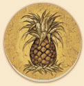 Pineapple Crackle Delectables Coaster Set of 8
