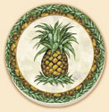 `Pineapple Delectables Coaster Set of 8