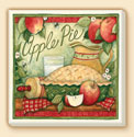 Apple Pie Delectables Coaster Set of 8