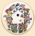 A Garden Bird Coaster Set of 8 - Birdhouse Garden