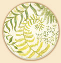 Botanicals Floral Coaster Set of 8