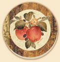 Autumn Fruit - Toscana Delectables Coaster Set of 8