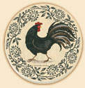 Rustic Rooster Farm Life Coaster Set of 8
