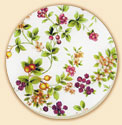 Classic Fruit Floral Coaster Set of 8
